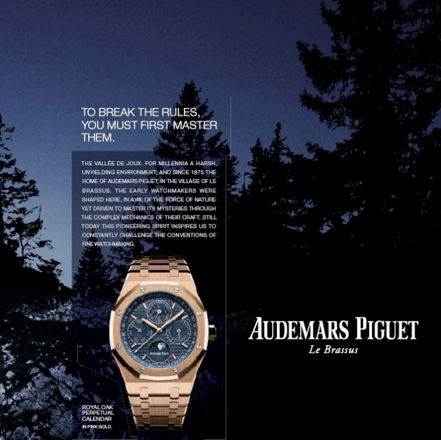 Audemars Piguet advertentie