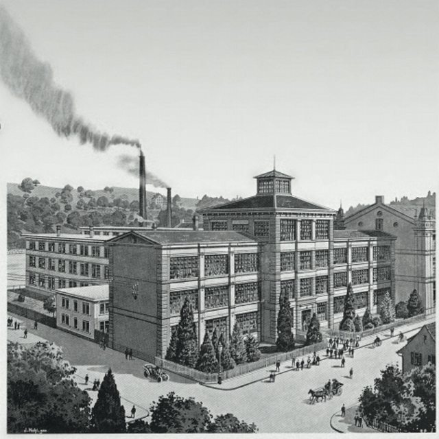 IWC fabriek in 1929